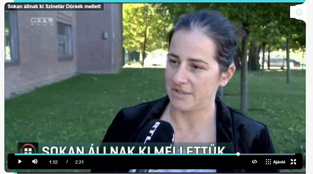 Anna az RTL Híradóban