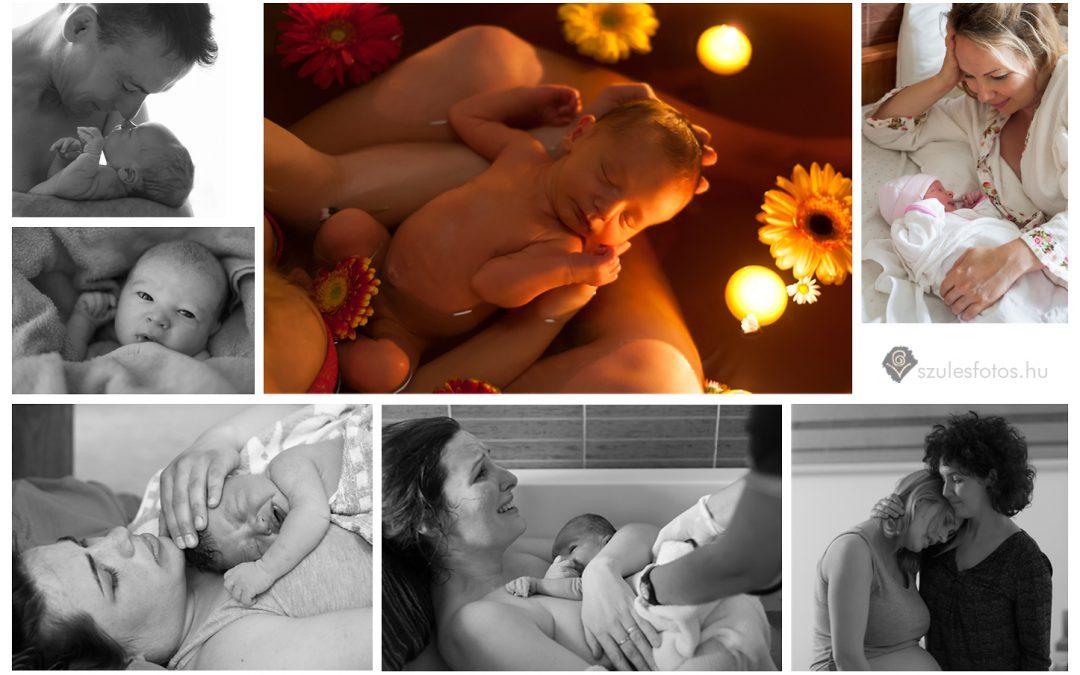 Galisz Virág szülésfotós képeivel várunk a Születés Hetén
