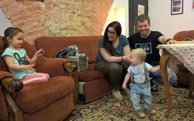 A Buda Környéki Televízió is forgatott a Születés Hetén